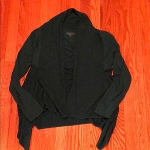 Coldwater Creek teal long sleeve cardigan